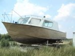 1975 Steel Work Boat Hull Ref W2047