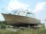 Steel Work Boat Hull Ref W2047 1975