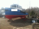 1999 Aluminum Twin Engine Work Boat - New Price