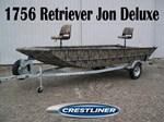 Crestliner 1756 Retriever Jon Deluxe 2016