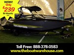 Scarab 215 Impulse Wake Twin 200HP Rotax Trailer Wake ... 2017