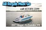 Regal 26 Fasdeck V8 2017