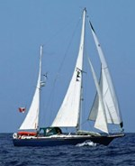 Whitby 42 cutter ketch 1986