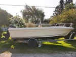 1982 SportCraft 20 Center Console with Trailer