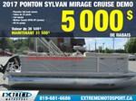 2017 Sylvan PONTON Sylvan Mirage Cruise DEMO