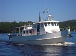 1985 40' Steel Pleasure Trawler
