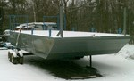 2017 12' x 24' Steel Barge
