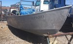 2010 Aluminum Work Boat With Trailer