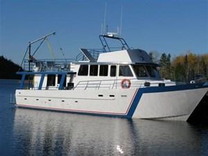 1997 Steel Overnight Fishing Charter Boat Steel Overnight Fishing Charter Boat