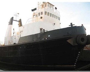 Twin Screw Tugboat - Built in England Twin Screw Tug Boat 1967