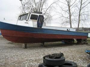 US built Trap Net Boat Twin Screw Trap Net Boat 1950