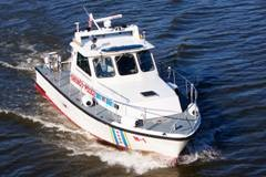 Gladding Hearn Crew Boat/Patrol Boat - New price 1982