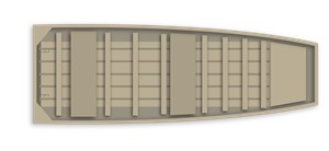 Alumacraft 1542 Jon Boat 2016