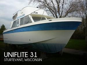 1971 Uniflite 31 Sport Sedan