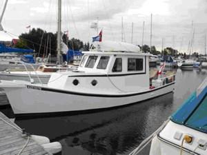 Custom Built 33' Steel Glen-L Lobster Boat Style Trawler 1994