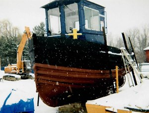 Custom Built Model Bow Truckable Tug 1952
