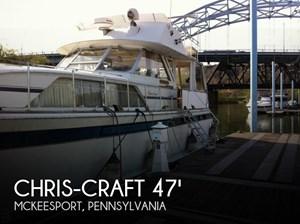 1975 Chris-Craft 47 Commander