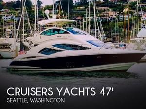 2006 Cruisers Yachts 477 Sport Sedan