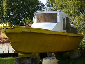 Work Boat Work Boat With Winch 1965