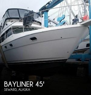 1995 Bayliner 4587 Cockpit Motor Yacht