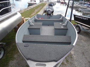 Smoker Craft 14' Big Fish Tiller 2016