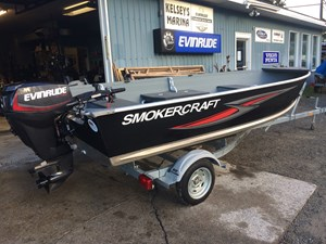 Smoker Craft 16' Big Fish Tiller 2016
