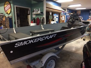Smoker Craft 16' Big Fish Side Console 2016