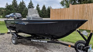 Crestliner 1450 Discovery Side Console 2016