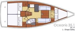 2021 Beneteau Oceanis 35.1