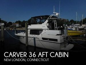 1991 Carver 36 Aft Cabin