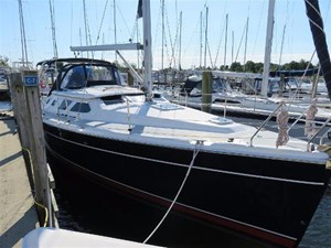 HUNTER 41 Deck Salon 2007