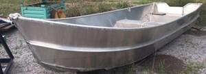 New Welded Aluminum Work Boat 2016