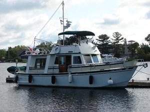 Custom Trawler Aluminum 1984