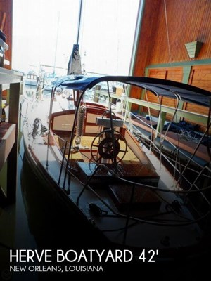 Herve Boatyard 1962