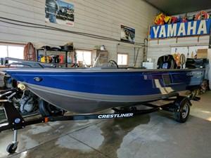 Crestliner 1650 Fish Hawk SC 2017