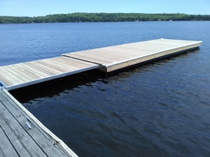 Whitewater Floating Dock 2017