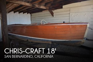 1945 Chris-Craft Sportsman 18