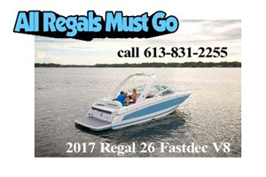 Regal 26 Fasdeck V8 2017