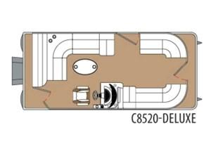 Montego Bay Pontoons C8520 4D - DLX 2017