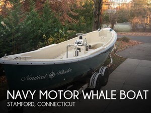 Navy Motor Whale boat 1987
