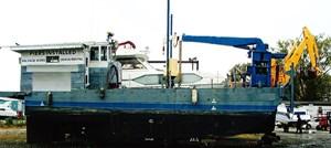 Sea Mule Marine Tug Work Barge 1944