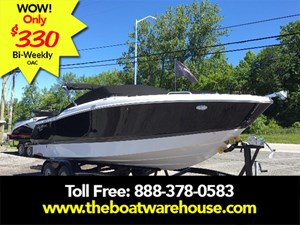 Four Winns H260 Mercruiser 6.2L 350hp Tandem trailer bimin... 2017