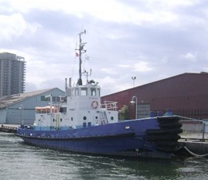 Twin Screw Harbor Towing Tug with Voith Transmission 1967