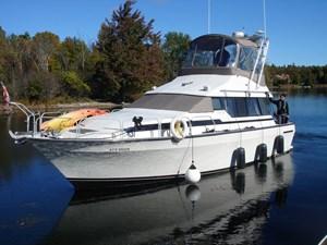 Mainship 35 Mediterranean Convertible 1989