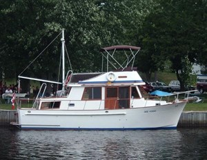 Sea Lord 34 Double Cabin Trawler 1986