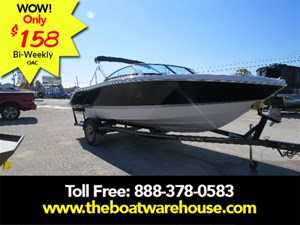 Four Winns H200 Volvo V6 225hp Extended swim platform Trailer 2017