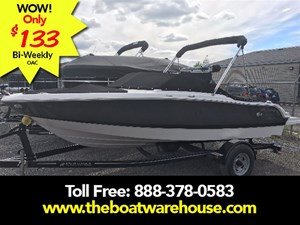 Four Winns H180 4.3L 180HP Trailer Bimini Top Extend swim ... 2017