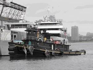 Single Screw Tugboat 1960
