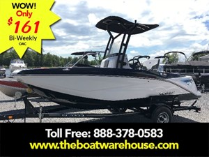 Scarab 195 Open BRP 250HO Rotax T-top w/ bimini and to... 2017