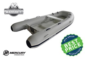 Mercury Inflatables 340 Ocean Runner - Rigid Hull - Hypalon* 2017